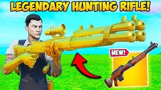 *NEW* LEGENDARY HUNTING RIFLE IS OP!! - Fortnite Funny Fails and WTF Moments! #831