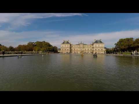 Paris, Jardin du Luxembourg 4K UltraHD,