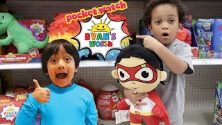 BRYSON PLAYS HIDE AND SEEK WITH RYAN AND FINDS RYAN'S WORLD NEW TOYS AT TARGET!!
