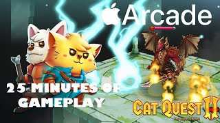 Cat Quest II 25 Minutes of Gameplay on Apple Arcade