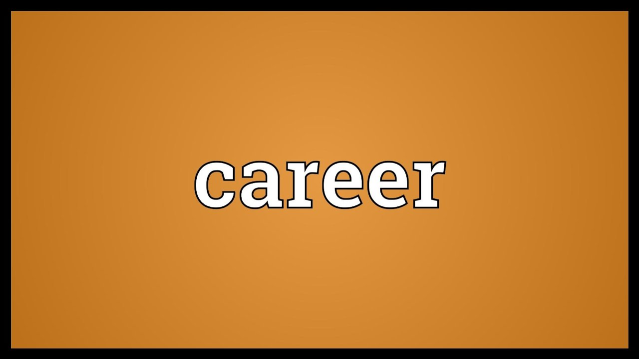 career meaning