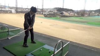 【ゴルフ同好会】素人だらけで打ちっ放しへ