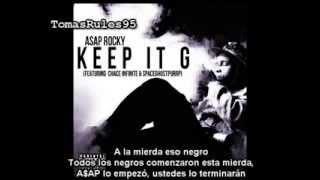 A$AP Rocky - Keep It G Subtitulado Al Español (Chace Infinite & SpaceGhostPurrp) (Con Explicaciones)