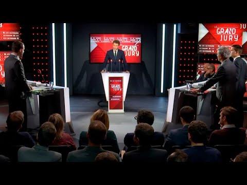 """Benjamin Griveaux était l'invité du """"Grand Jury"""" dimanche 13 mai 2018"""