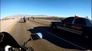 Motorcycle Police Chases Compilation #11 - FNF