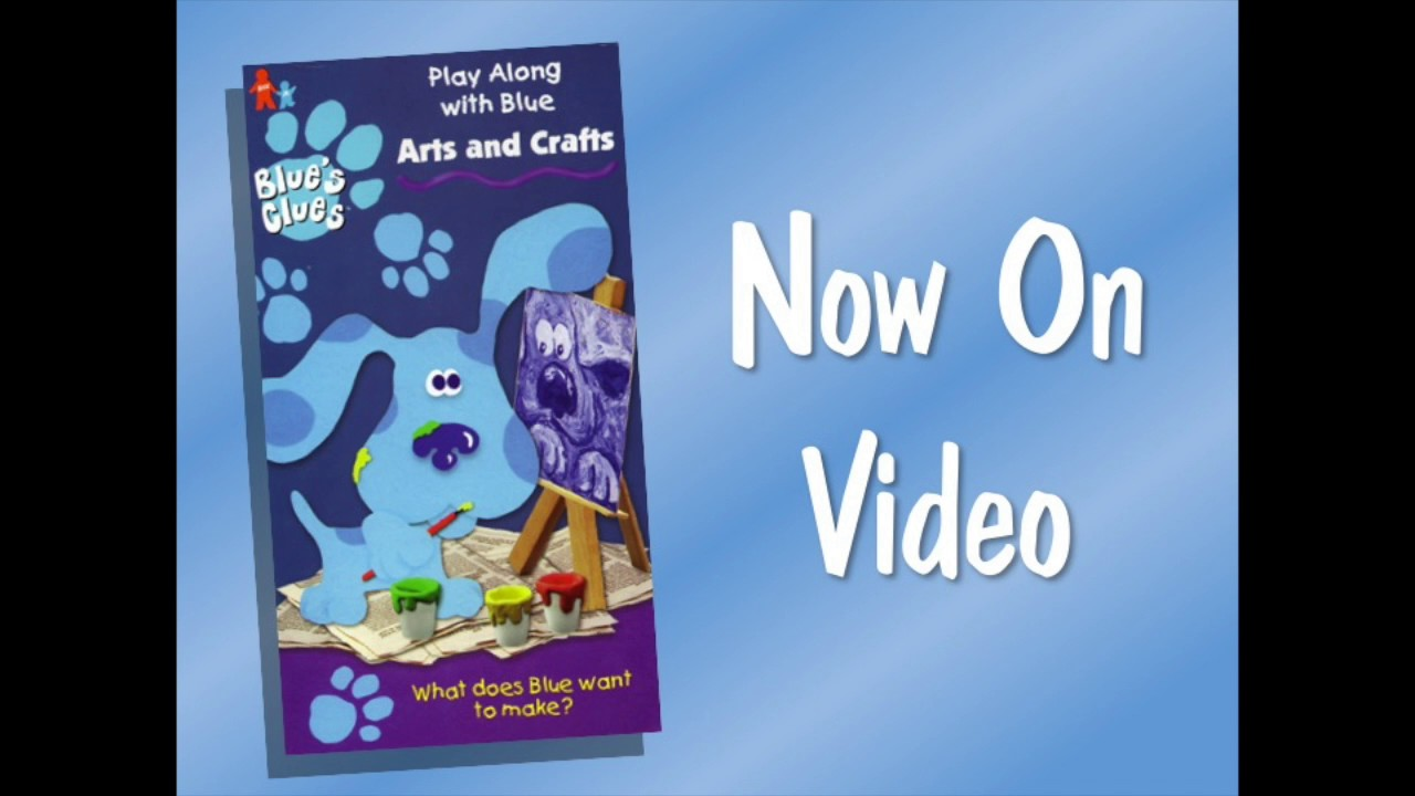 Youtube Art And Craft: Blue's Clues Arts And Crafts Short Promo