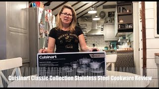 Cuisinart Classic Collection Stainless Steel Cookware blogger review