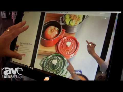 Integrate 2016: Soanar Features the Elo 22-Inch IDS Touch Monitor with Multi-Gesture Features