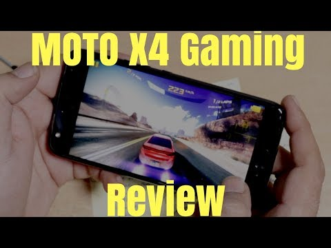 Moto X4 Gaming Review Heavy Games ! Hindi India