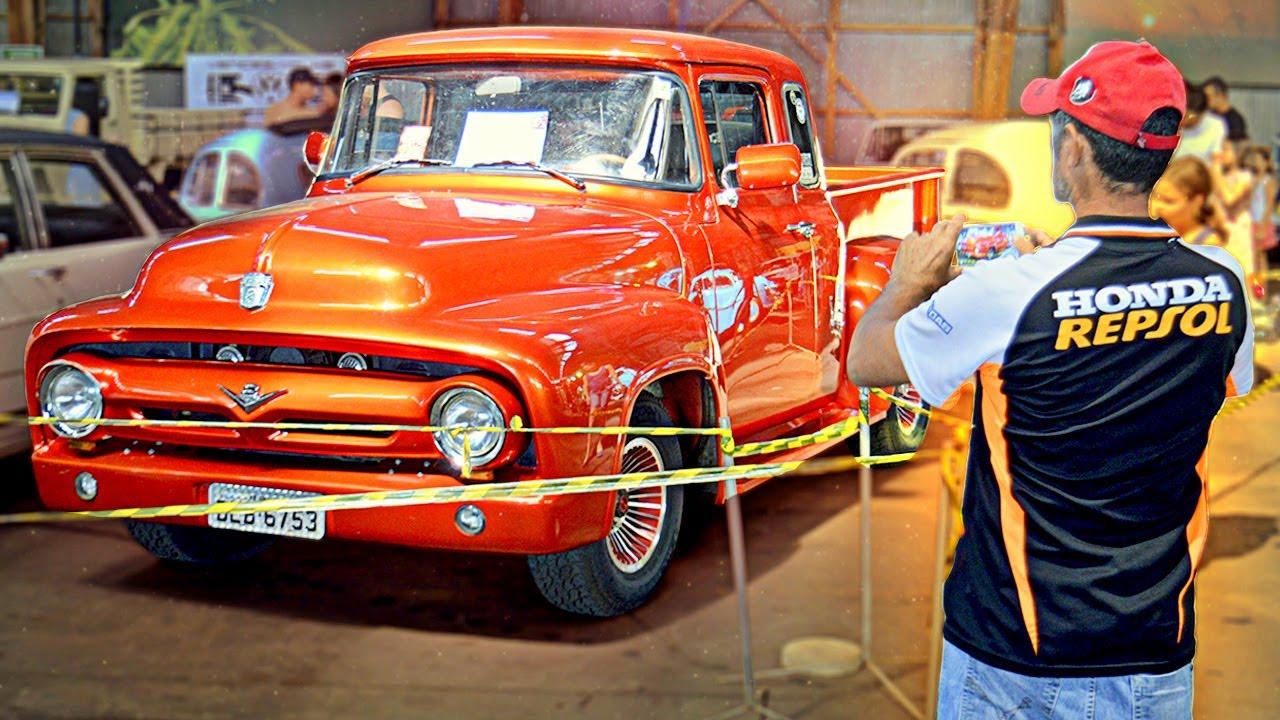 Exposição de Automóveis Antigos em Prudente!