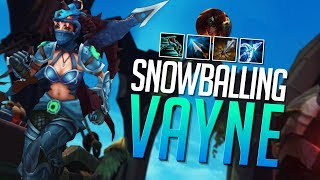 Doublelift - Snowballing w/ Season 8 VAYNE (and Sivir)