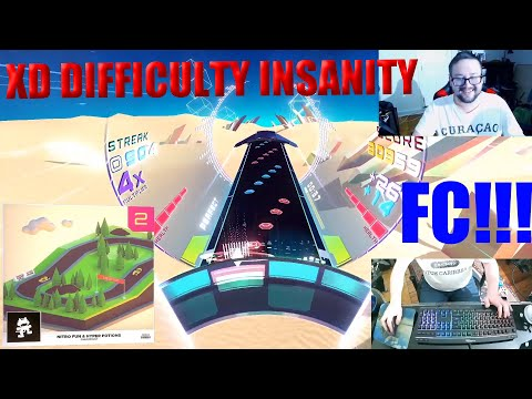 Spin Rhythm XD- Checkpoint by Hyper Potions and Nitro Fun- XD Difficulty FC/S Rank |