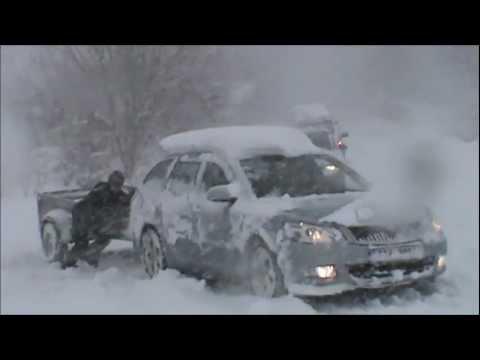 Reportáž - Sněhová kalamita na Frýdecko-Místecku (31. 3. 2013)