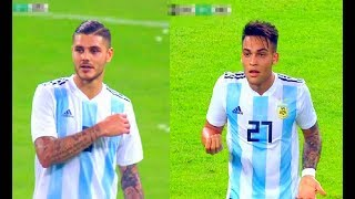 Mauro Icardi And Lautaro Martínez vs Brazil(16/10/2018)Friendly HD 720p by轩旗