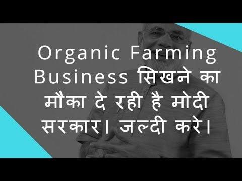 Organic Farming Business सिखने का मौका दे रही है मोदी सरकार। जाने कैसे