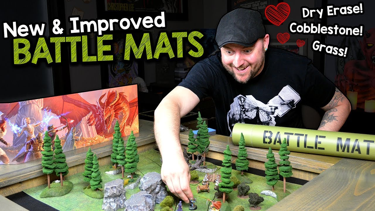 New & Improved Battle Mats for Dungeons & Dragons - Sponsored