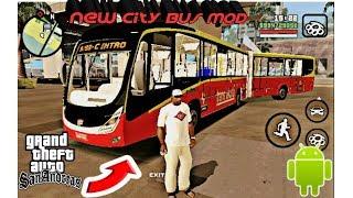 New City Bus Mod For Gta Sa Android || Hindi || Sahara Mod