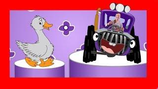 Детская песенка про трактор. Отгадай кто едет за рулем?