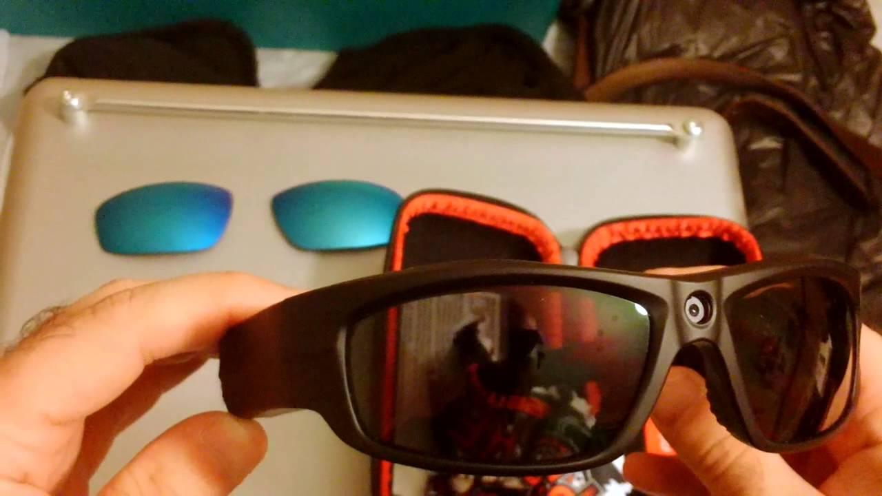 7b39b1476bff Changing lenses on Pivothead Durango POV camera sunglasses (720P 60fps  source)
