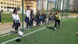 Kızlar Arası Futbol Turnuvası --- 9-A / 9-B futbol maçı