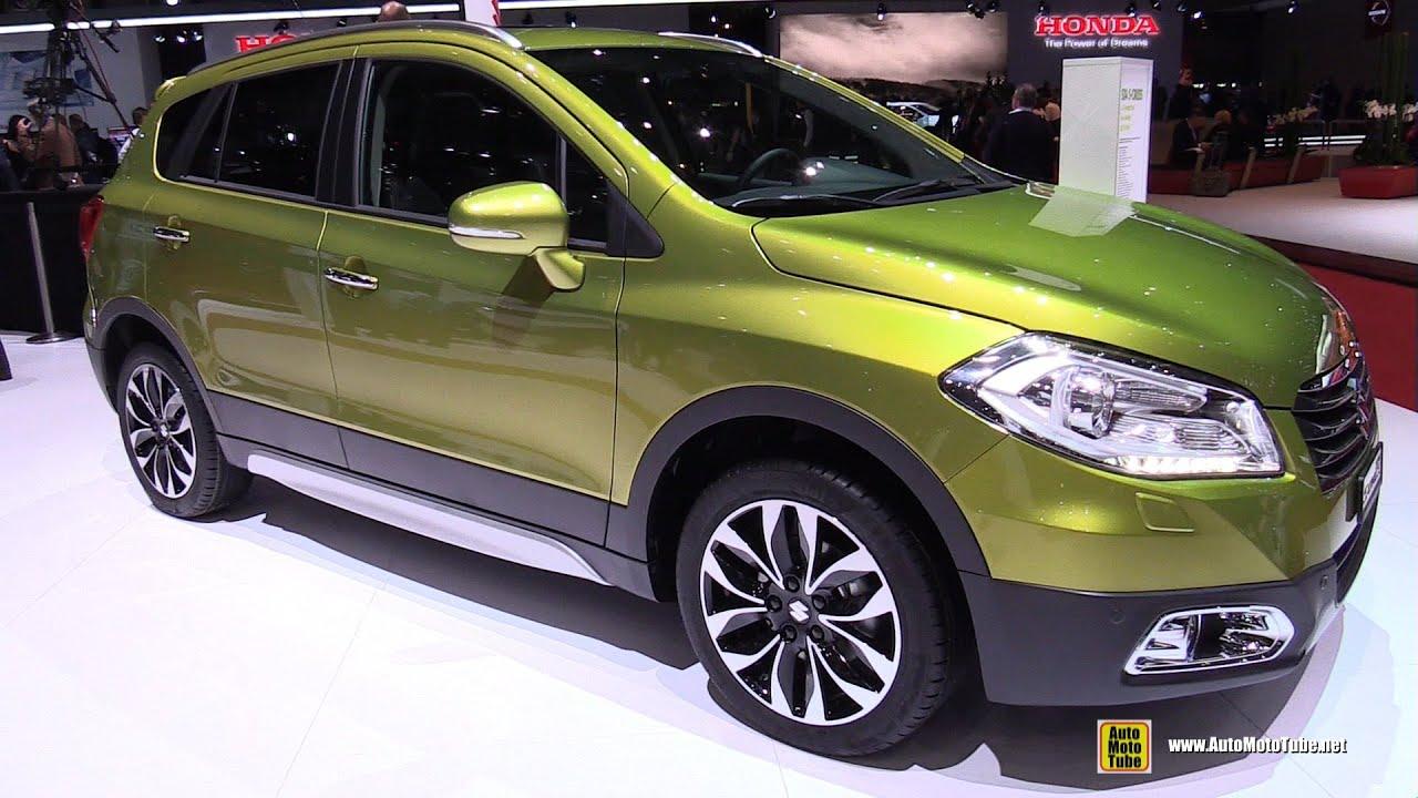 2015 suzuki sx4 s cross all grip exterior and interior walkaround 2015 geneva motor show youtube