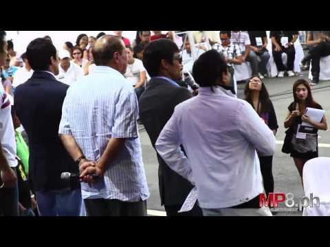 Manny Pacquiao - Behind the Scenes Pacquiao Marquez Press Con Manilla