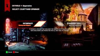 Dragon Age: Inquisition - Unlimited Quarry and Logging Stands Glitch (To Fix Up Skyhold)