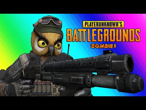 Thumbnail: PUBG Zombies Funny Moments - Nogla Rage and Zombie Swarm Panic!