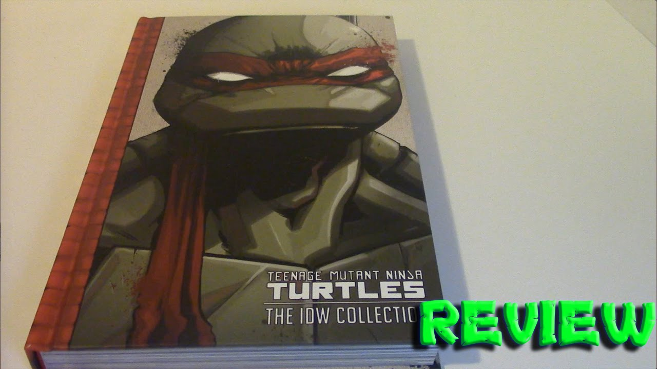 Teenage Mutant Ninja Turtles The IDW Collection Vol 1 Review