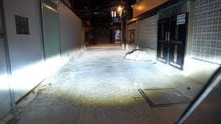 Đánh giá M4S [Trợ sáng chống chói hoàn hảo] trên Kawaski Versys 300 || LED PHƯỢT Shop