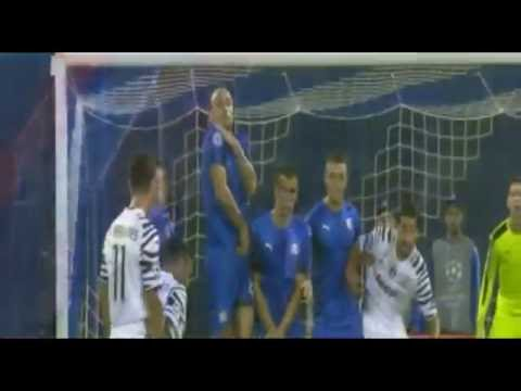 Dinamo Zagreb vs Juventus 0-4 Daniel Alves Goal // Champions League