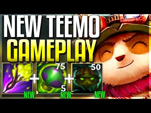 *NEW* TEEMO REWORK IS NUTS!! WTF HAS RIOT DONE?? LOL - Reworked Teemo Gameplay - League of Legends