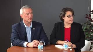 New york's 24th congressional district candidates rep. john katko and dana balter debate on wednesday, oct. 24 at the syracuse.com newsroom. marie morelli an...