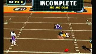 NFL Blitz 2000 - Baltimore Ravens vs Pittsburgh Steelers (1st Half)