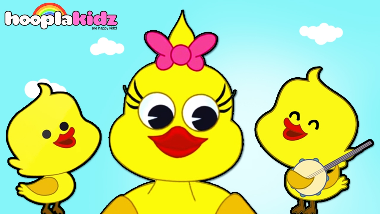 HooplaKidz Nursery Rhymes Kids App FREE - Learn Nursery Rhymes | Five  Little Ducks