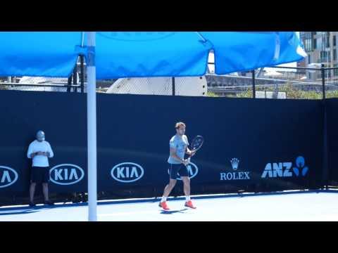 Stan Wawrinka Practice - Australian Open 2017 4K