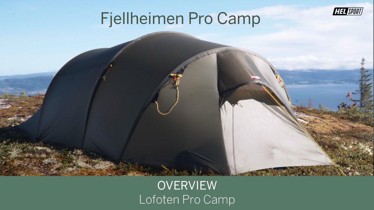 Fjellheimen Pro 3 Camp Zelt