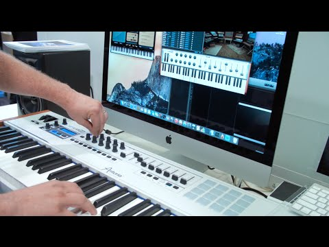 Arturia's new KeyLab 88 Keyboard Controller is incredibly light and powerful.