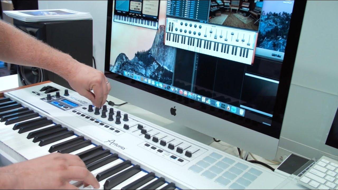 Keyboard Workstation Or Midi Controller : arturia s new keylab 88 keyboard controller is incredibly light and powerful youtube ~ Hamham.info Haus und Dekorationen