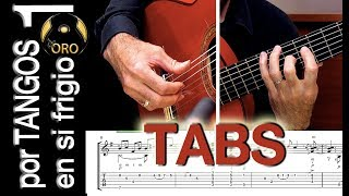 Download Flamenco Guitar Lesson TABS | por Tangos #1 | Diego de Oro Mp3 and Videos