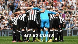Newcastle United | All 62 Goals 2017