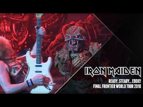 Iron Maiden - Ready, steady.... EDDIE! (Final Frontier World Tour 2010)