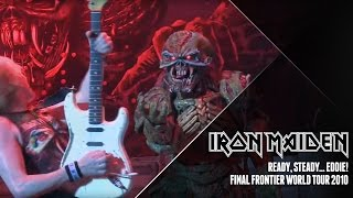 Iron Maiden - Ready, steady.... EDDIE! (Final Frontier World Tour 2010)