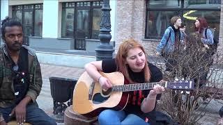 SEX-BOMB!!! Кавер песни (SABRINA).  Brest! Guitar! Music! Song!