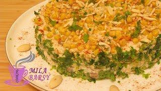 Невероятно вкусный салат из куриной грудки с грибами 🎄 Новогодний рецепт 🎄 Mushroom chicken salad