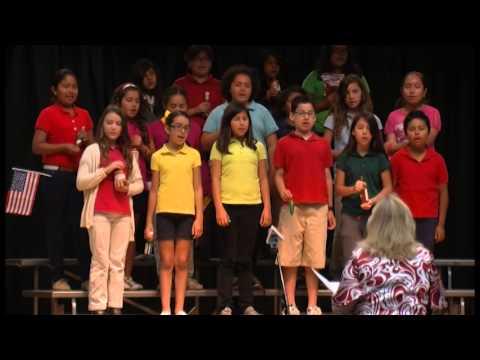 sausdtv Santiago Elementary School Celeb America 2013