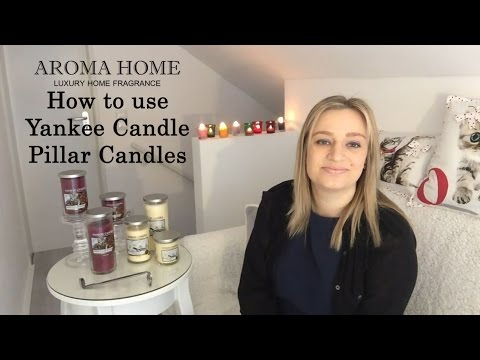 How to use Yankee Candle Pillar Candles