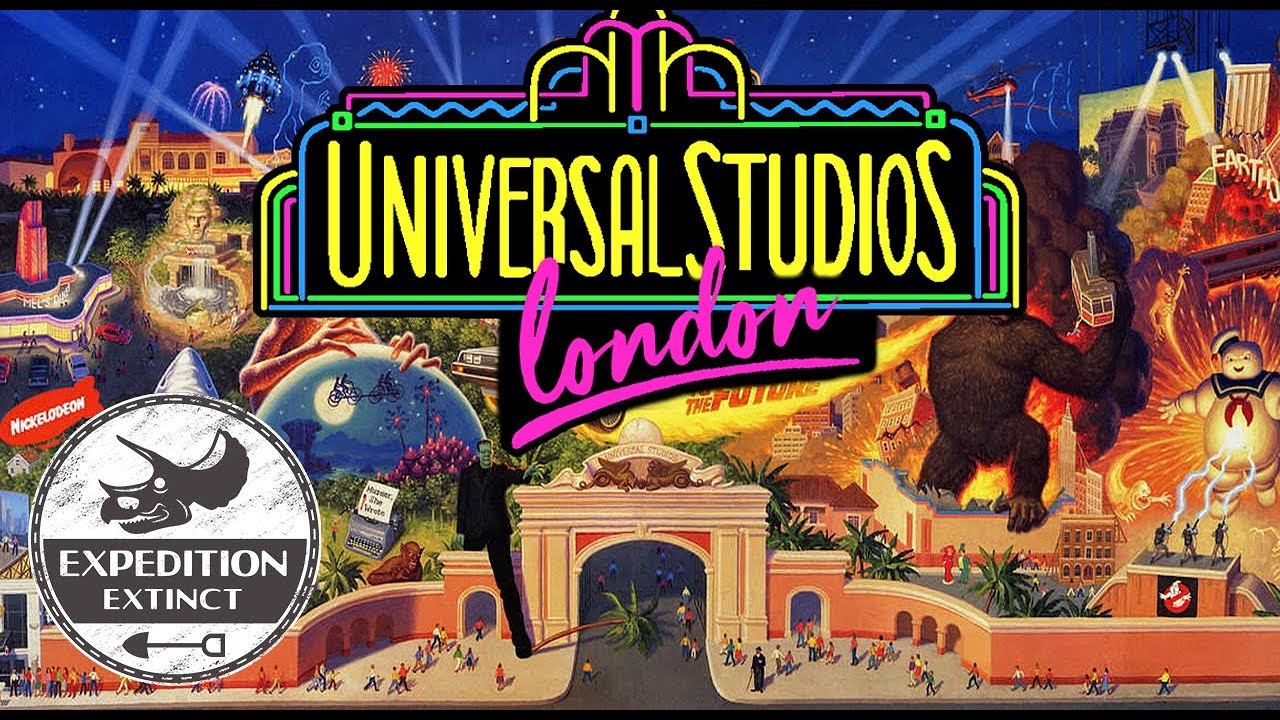 The Abandoned History of Universal Studios London: Approved yet Unbuilt | Expedition Extinct
