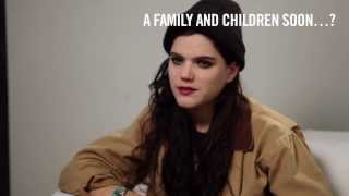 INBEDWITH x SoKo: Family and children soon?
