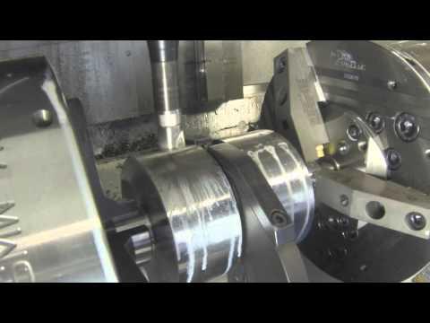 Komplettbearbeitung 2-Zylinder Kurbelwellen-Demonstrator